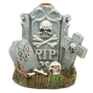 Backflow Incense Burner - RIP Tombstone