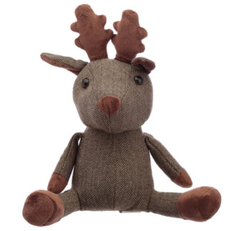 Fun Christmas Reindeer Door Stop