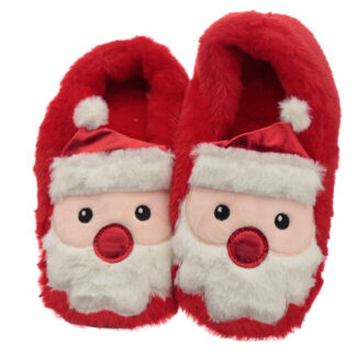 Christmas Santa Microwavable Heat Wheat Pack Slippers