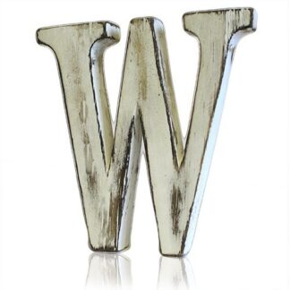 Shabby Chic Letters - W