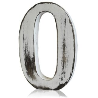 Shabby Chic Letters - O