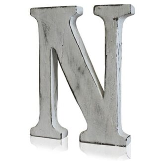 Shabby Chic Letters - N