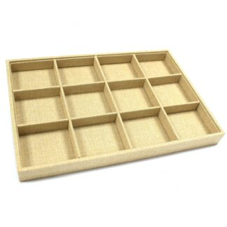 Twelve Compartment Display Tray