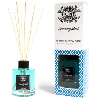 120ml Reed Diffuser -  Heavenly Musk