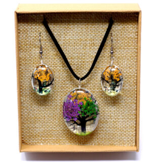 Pressed Flowers - Tree of Life set - Mixed Colours