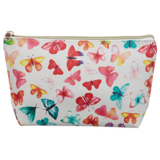 Medium PVC Make Up Toiletry Wash Bag - Butterfly House
