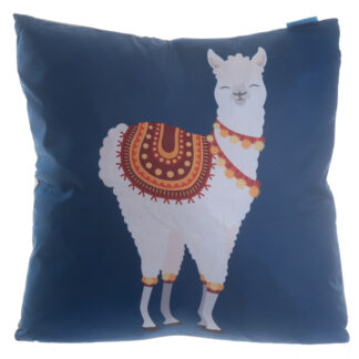 Fun Design Cushion with Insert - Alpaca