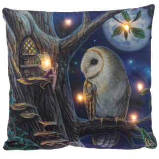 Decorative LED Cushion - Lisa Parker Fairy Tales Owl and Fairy