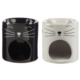 Ceramic Feline Fine Cat Oil Burner