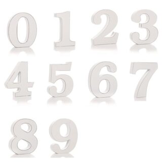 Shabby Chic Numbers - 1 Though 0 (10)