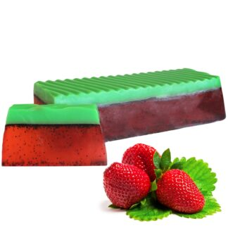 Tropical Paradise Soap Loaf - Strawberry