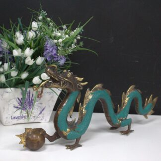 Fengshui - Small Dragon with Ball - 20cm