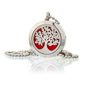 Aromatherapy Diffuser Necklace - Tree of Life 25mm