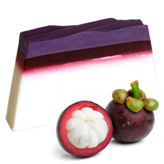 Tropical Paradise Soap - Mangosteen - SLICE approx 100g