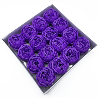Craft Soap Flower - Ext Large Peony - Lavender