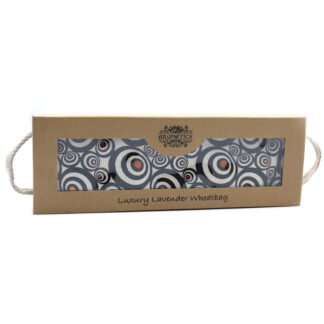 Luxury Lavender  Wheat Bag in Gift Box  - Illusion