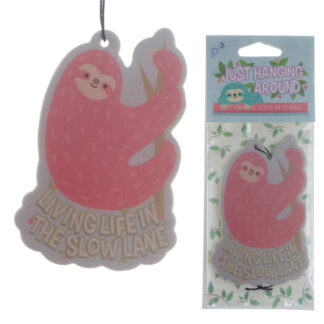 Cute Sloth Design Strawberry Scented Air Freshener
