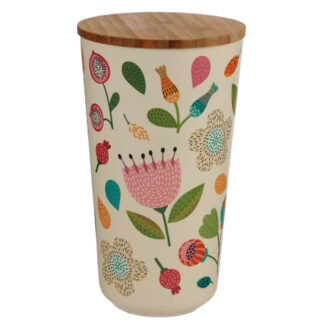 Large Bamboo Composite Storage Jar Pick of the Bunch Autumn Falls