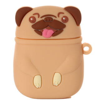 Wireless Earphone Silicone Case Cover - Mopps Pug (Cover Only)