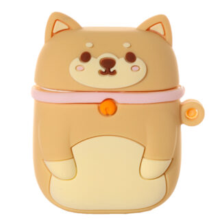 Wireless Earphone Silicone Case Cover - Shiba Inu Dog (Cover Only)