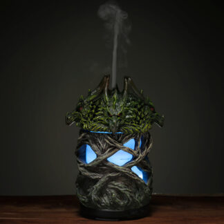 Aroma Diffuser LED Humidifier - Dark Legends Fire Earth Twisted Tree Dragon