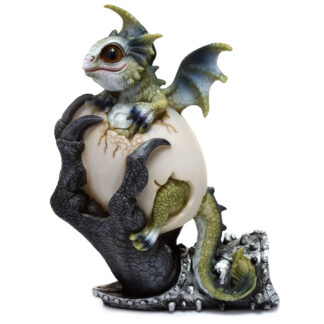 Protective Claw Sweet Dreams Baby Dragon Figurine