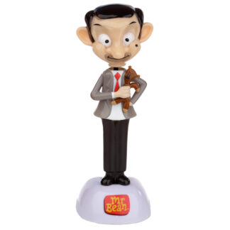 Collectable Licensed Solar Powered Pal - Mr Bean and Teddy