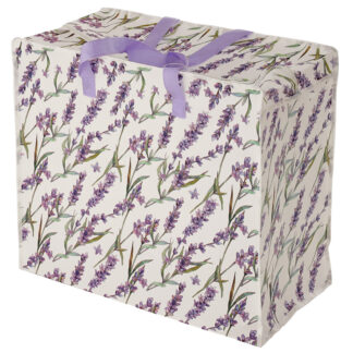 Fun Practical Laundry  and  Storage Bag - Pick of the Bunch Lavender Fields