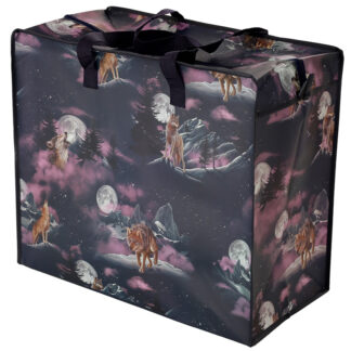 Fun Practical Laundry  and  Storage Bag - Protector of the North Wolf