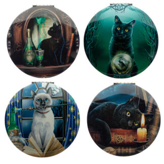 Fun Collectable Lisa Parker Magical Cats Compact Mirror