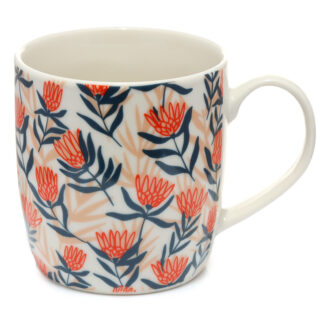 Collectable Porcelain Mug - Protea Flower Pick of the Bunch