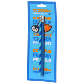 Adoramals Sealife Pencil with Charms Set of 2