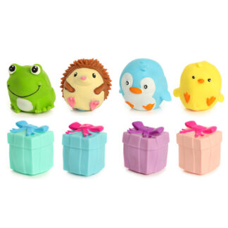 Fun Kids Cute Animals Gift Box Turn It Inside Out Toy