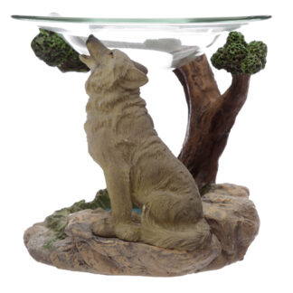 Spirit of the Forest Protector of the North Wolf Oil Burner