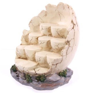 Tiered Egg Shaped Display Stand